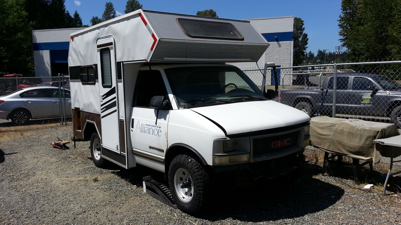 Camperized Astro/Safari - Share ...