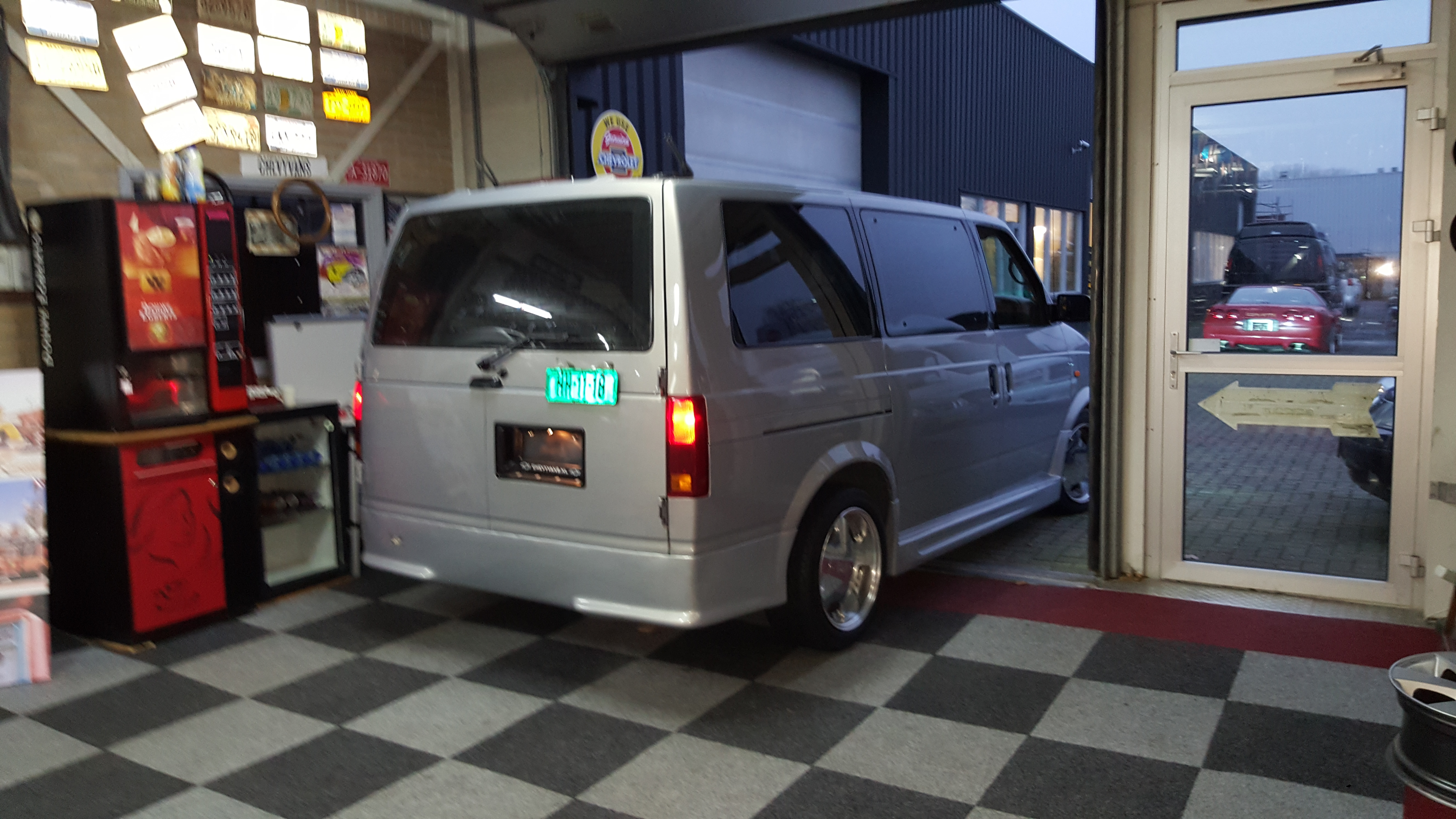 Bought an Astro Van from Japan i...