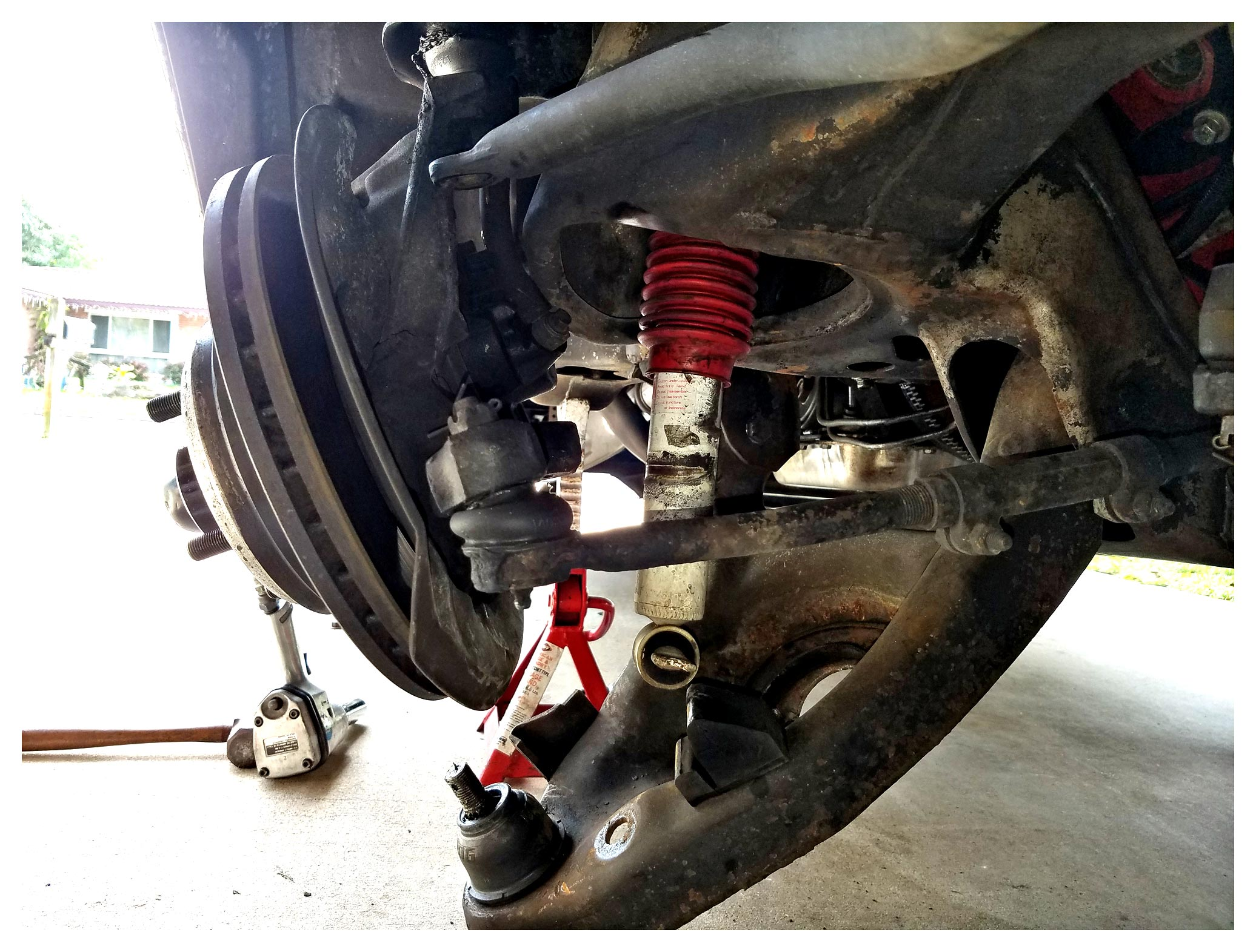 Replacing Upper Ball Joint: what...