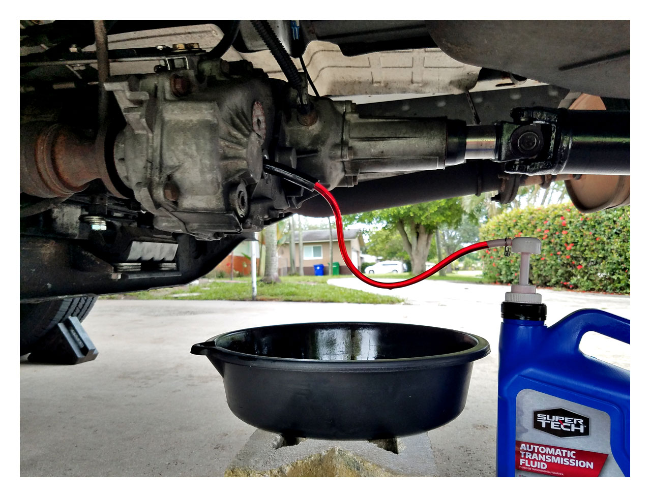 Np233 trans fluid or gear oil?