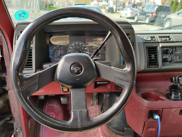 REMOVING ORIGINAL STEERING WHEEL...
