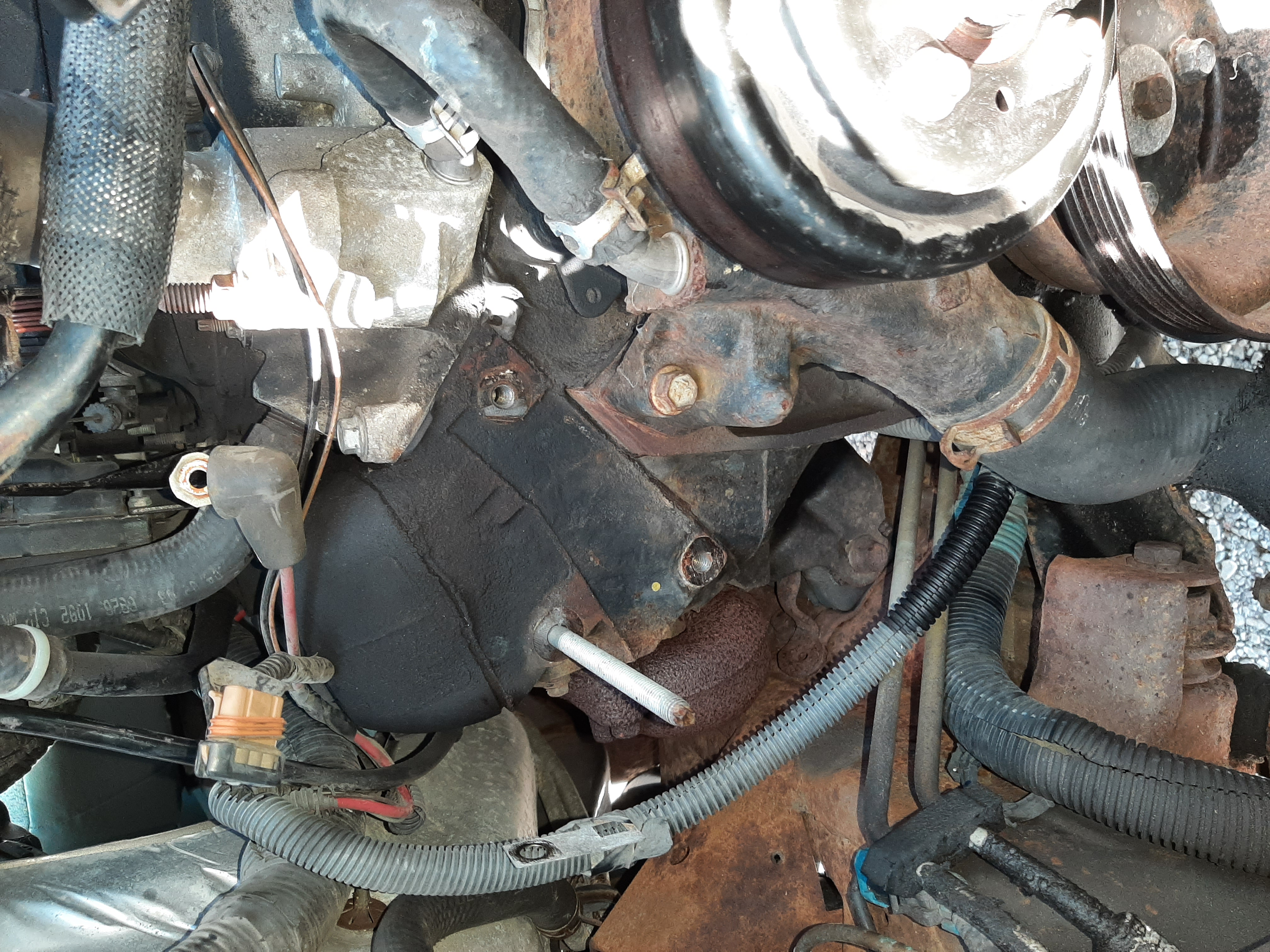 2003 alternator bracket removal