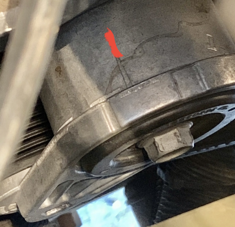 Should lower radiator hose be th...