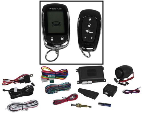 Alarm with remote start, recomme...