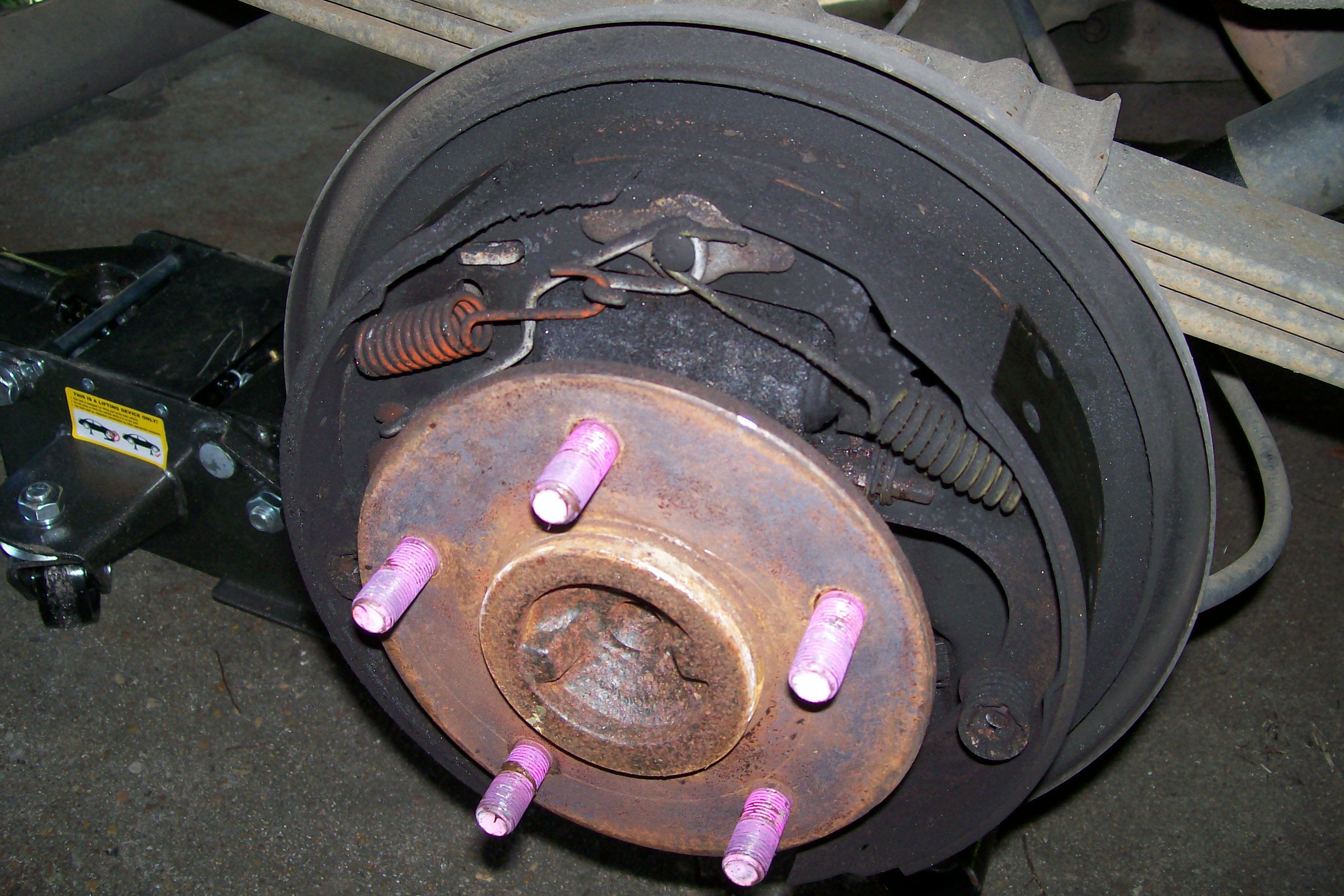 are my rear brakes worn out?