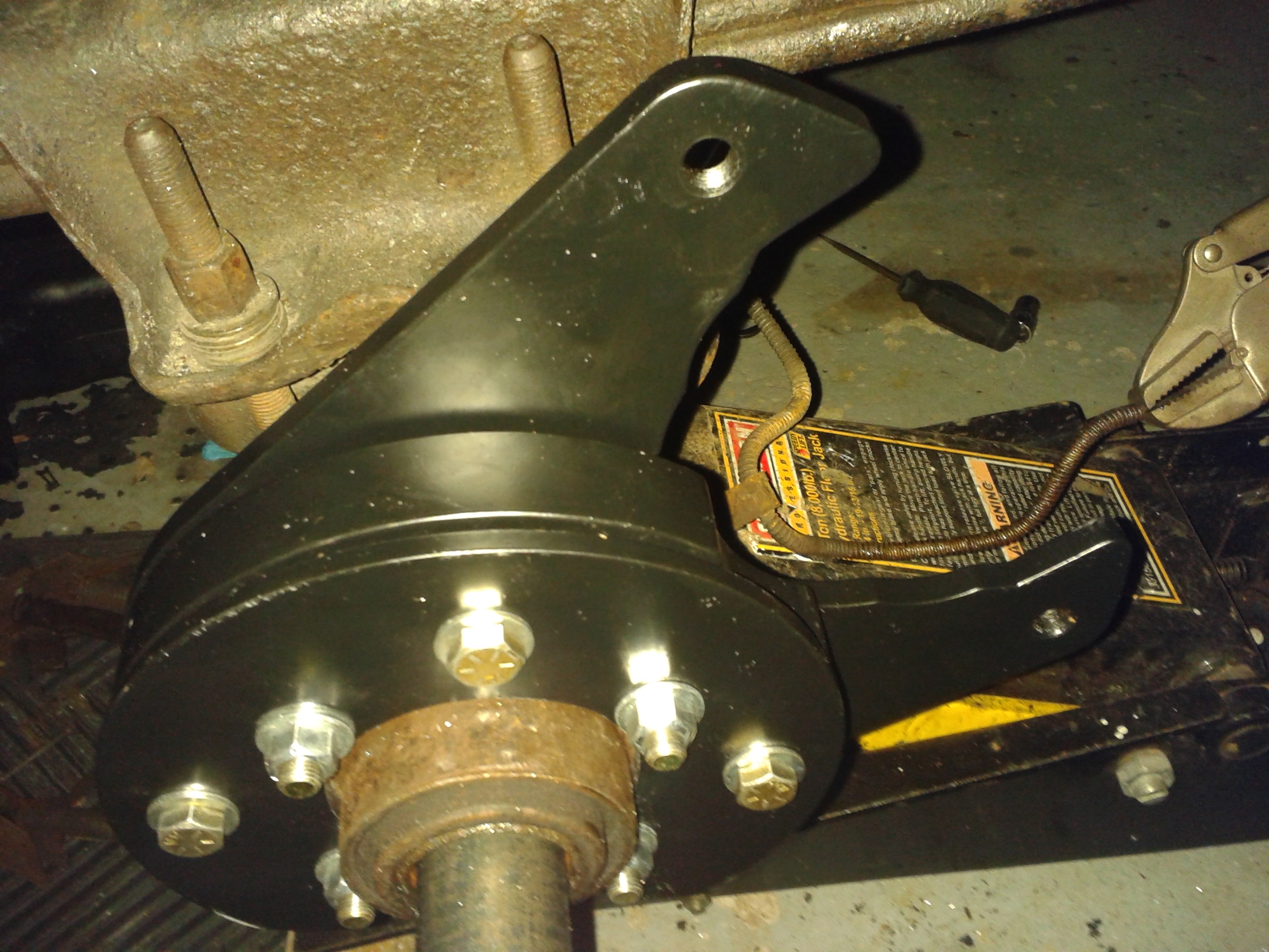 REAR DISK BRAKE CONVERSION ALMOS...
