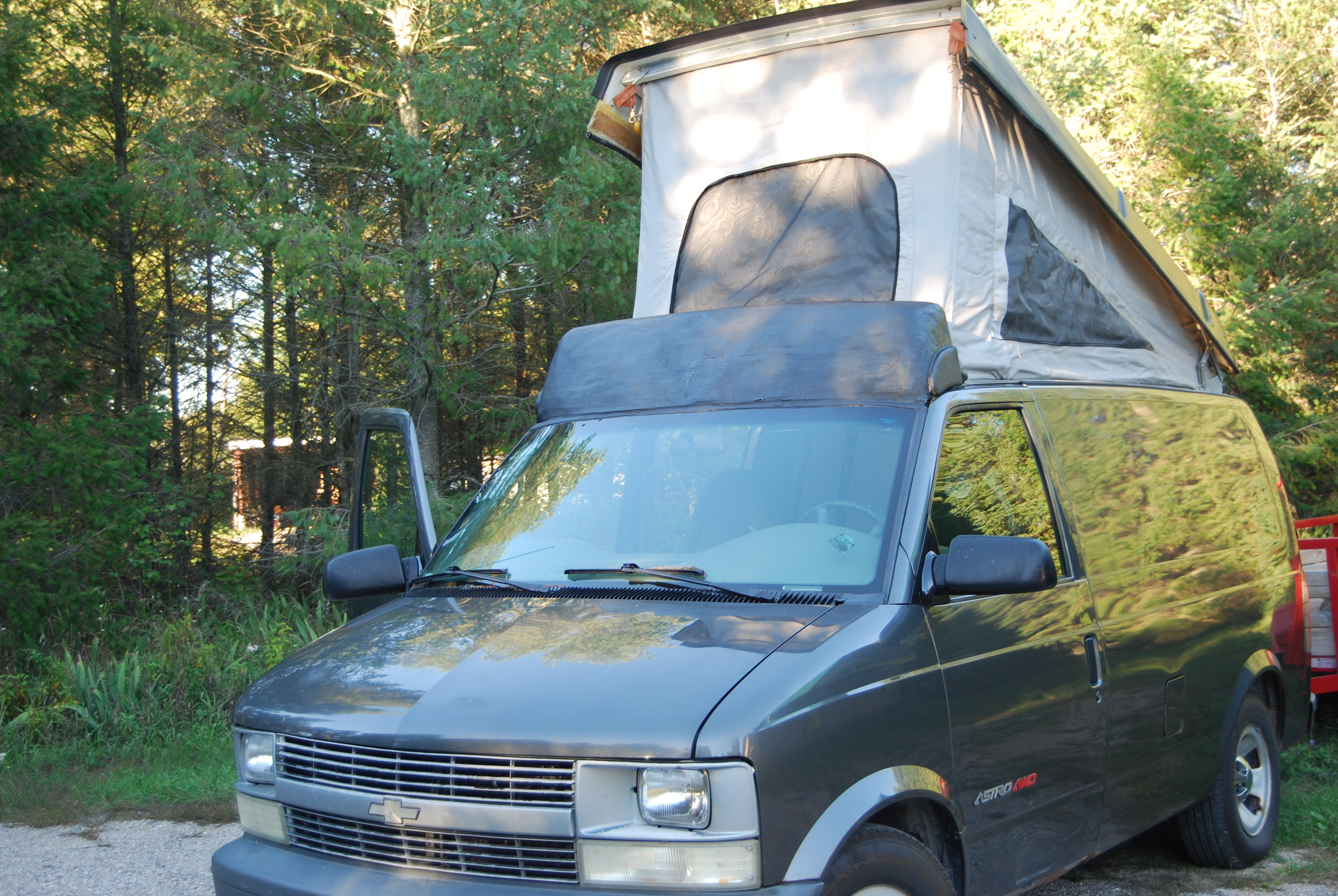 pop top astro van for sale 2003