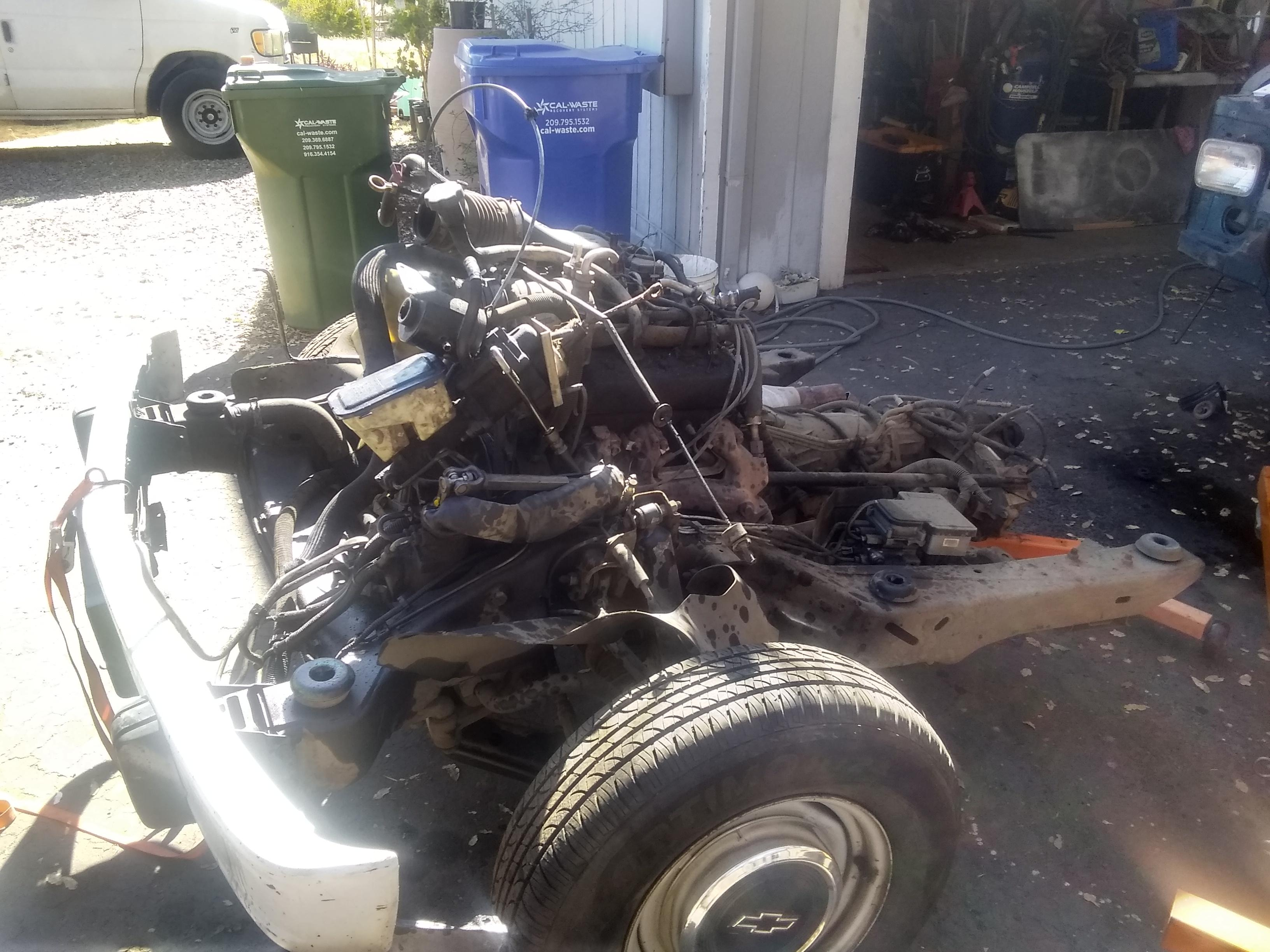 Parting out 1998 Astro AWD
