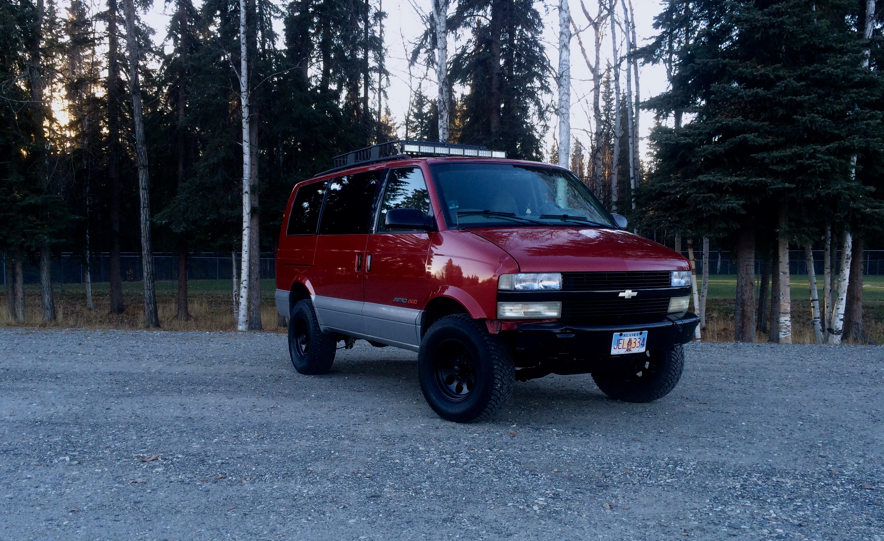 Lifted 2000 Astro LS
