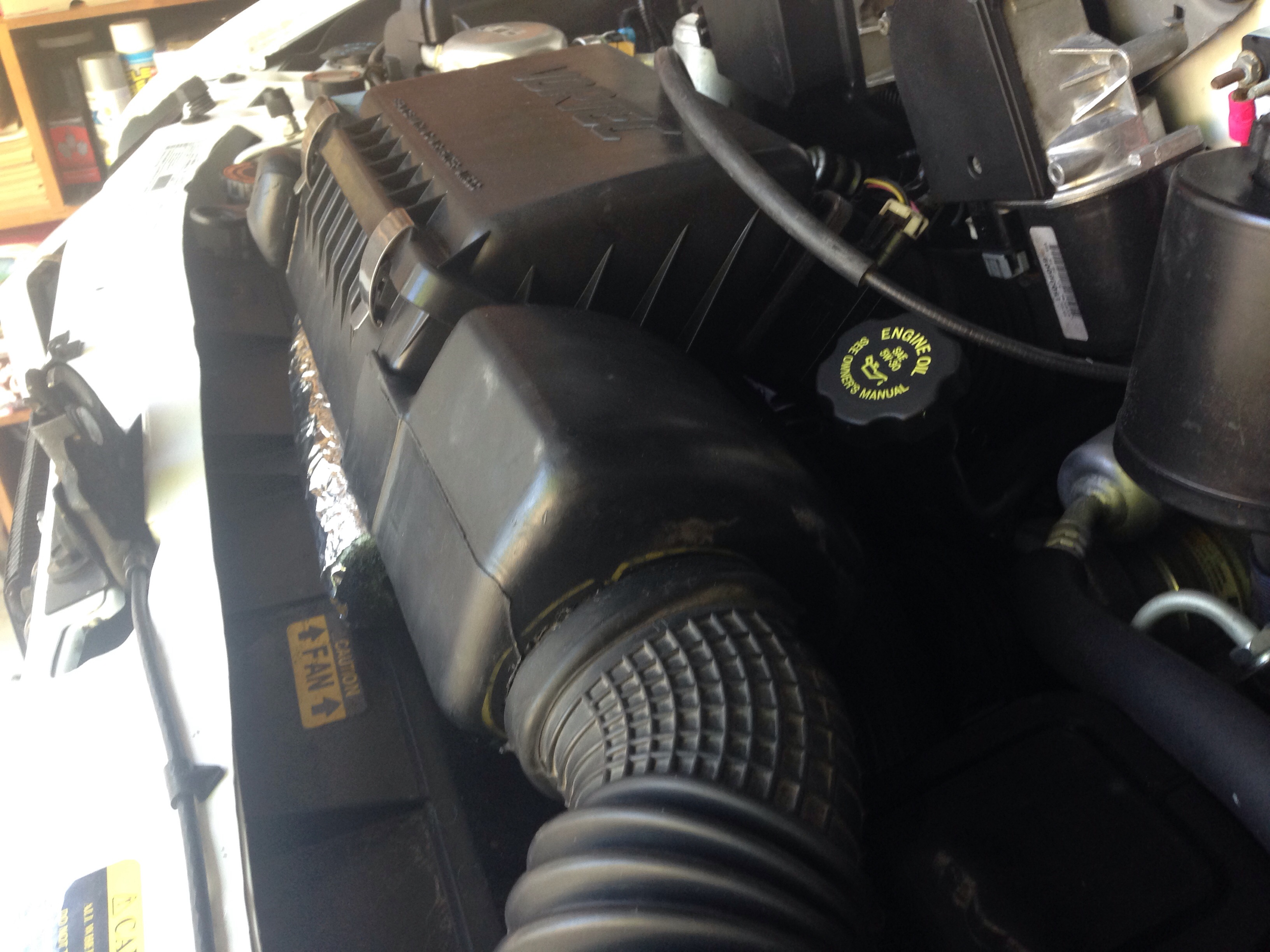 2nd Air Intake