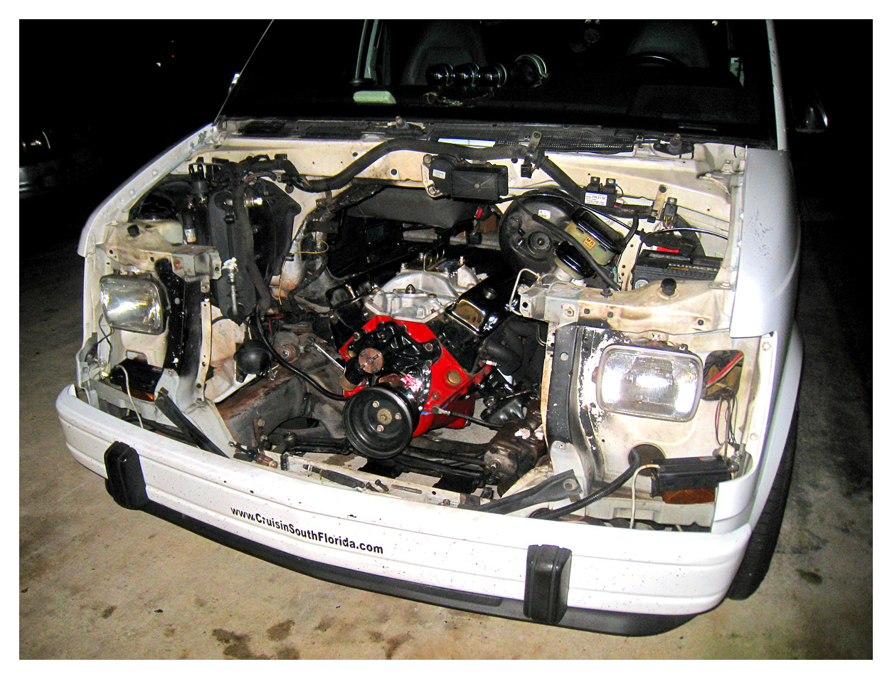Engine removal vs removing acces...