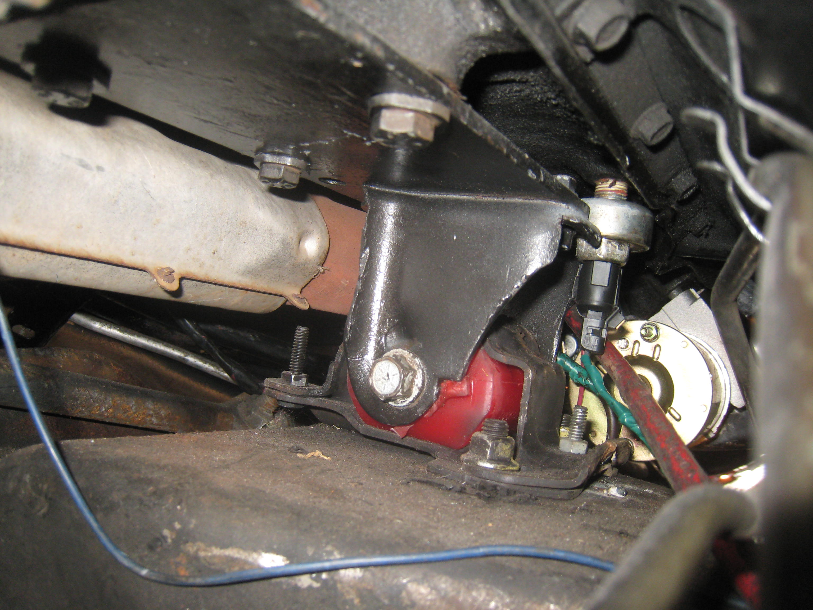 home made v8 motor mounts