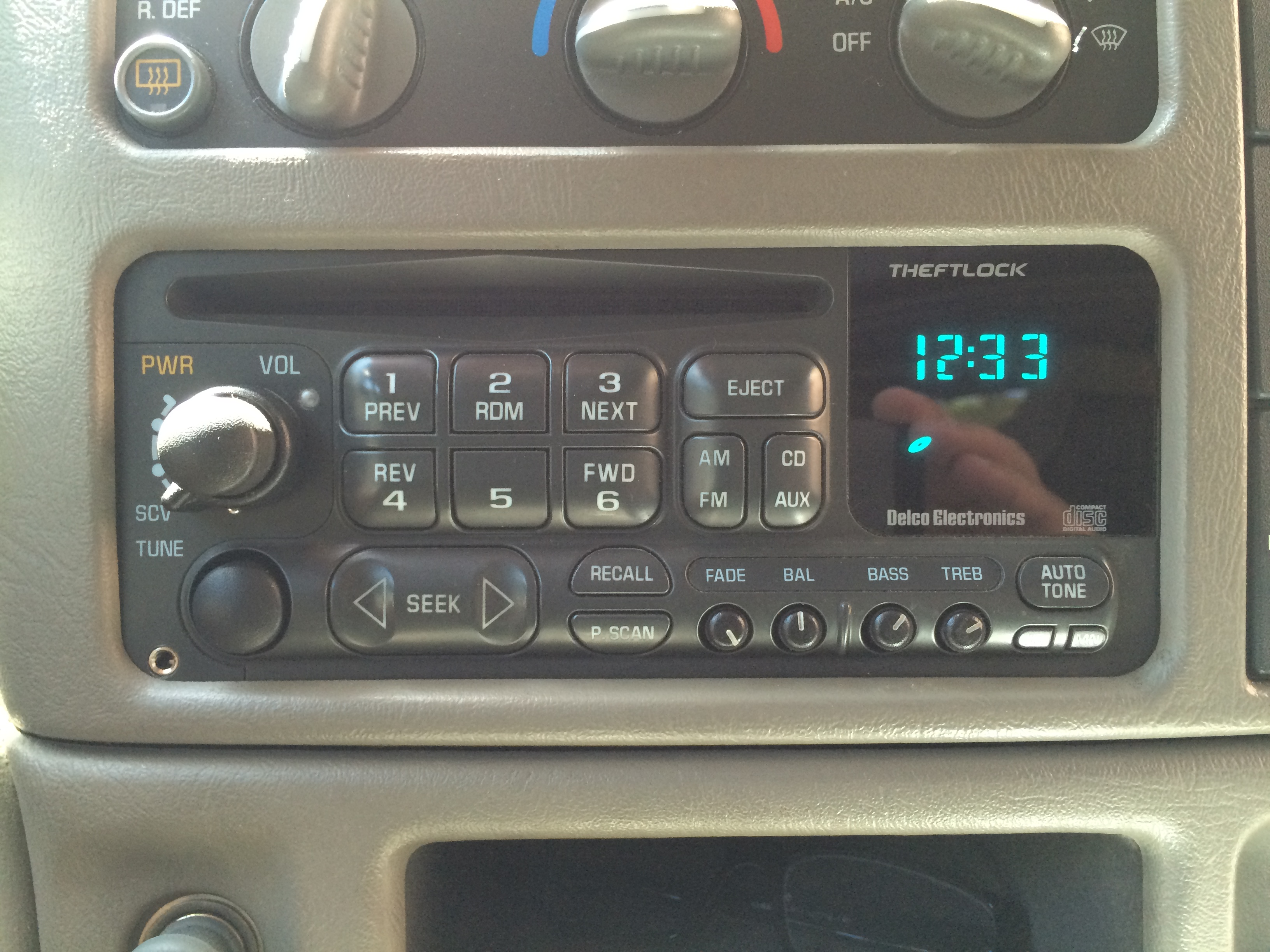 2003 Factory Radio AUX input for...