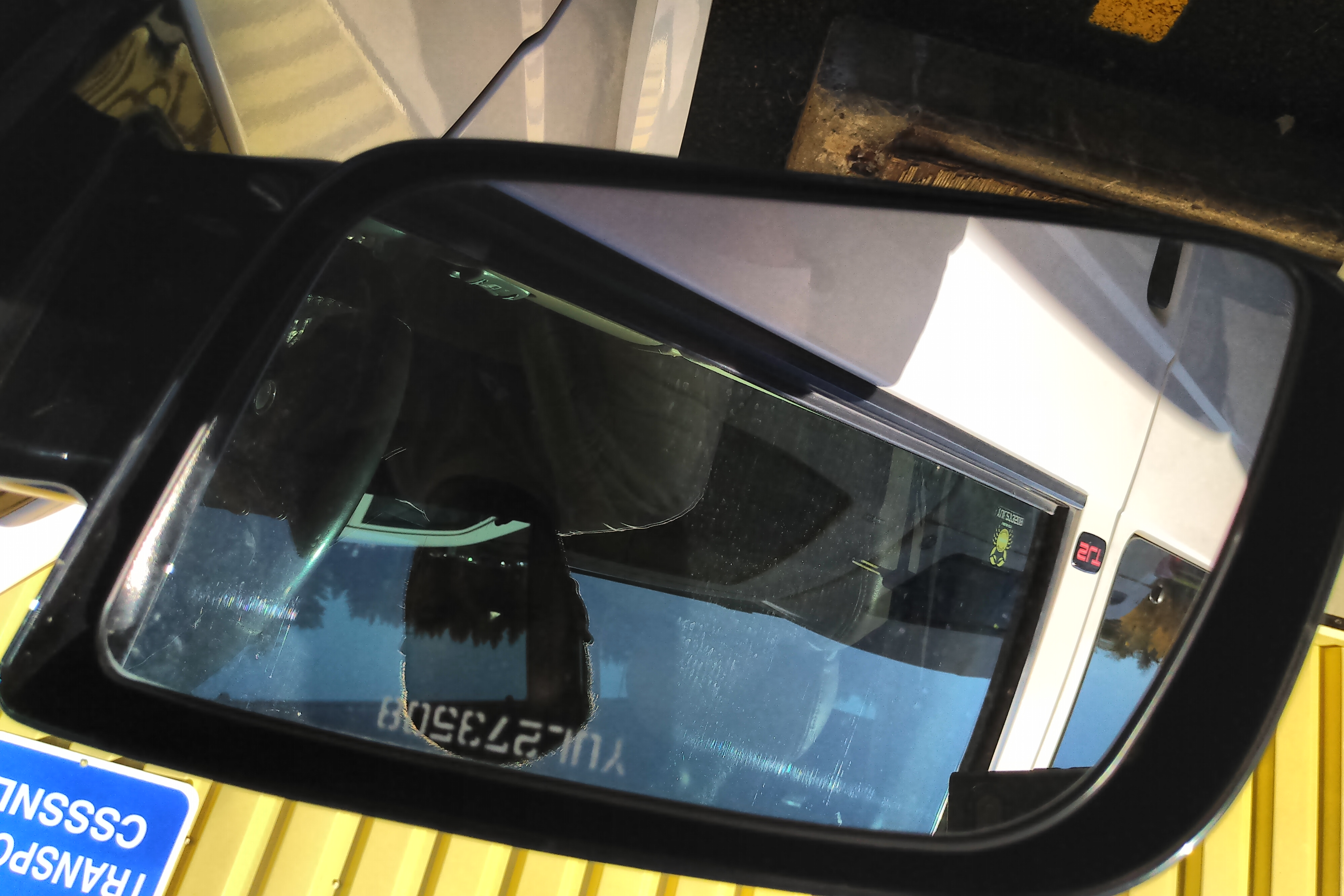 Side mirror vibrating ( glass )