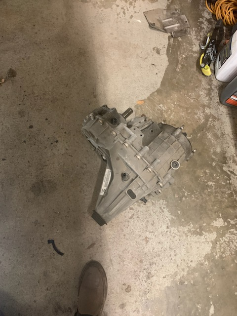 AWD transfer case 34k