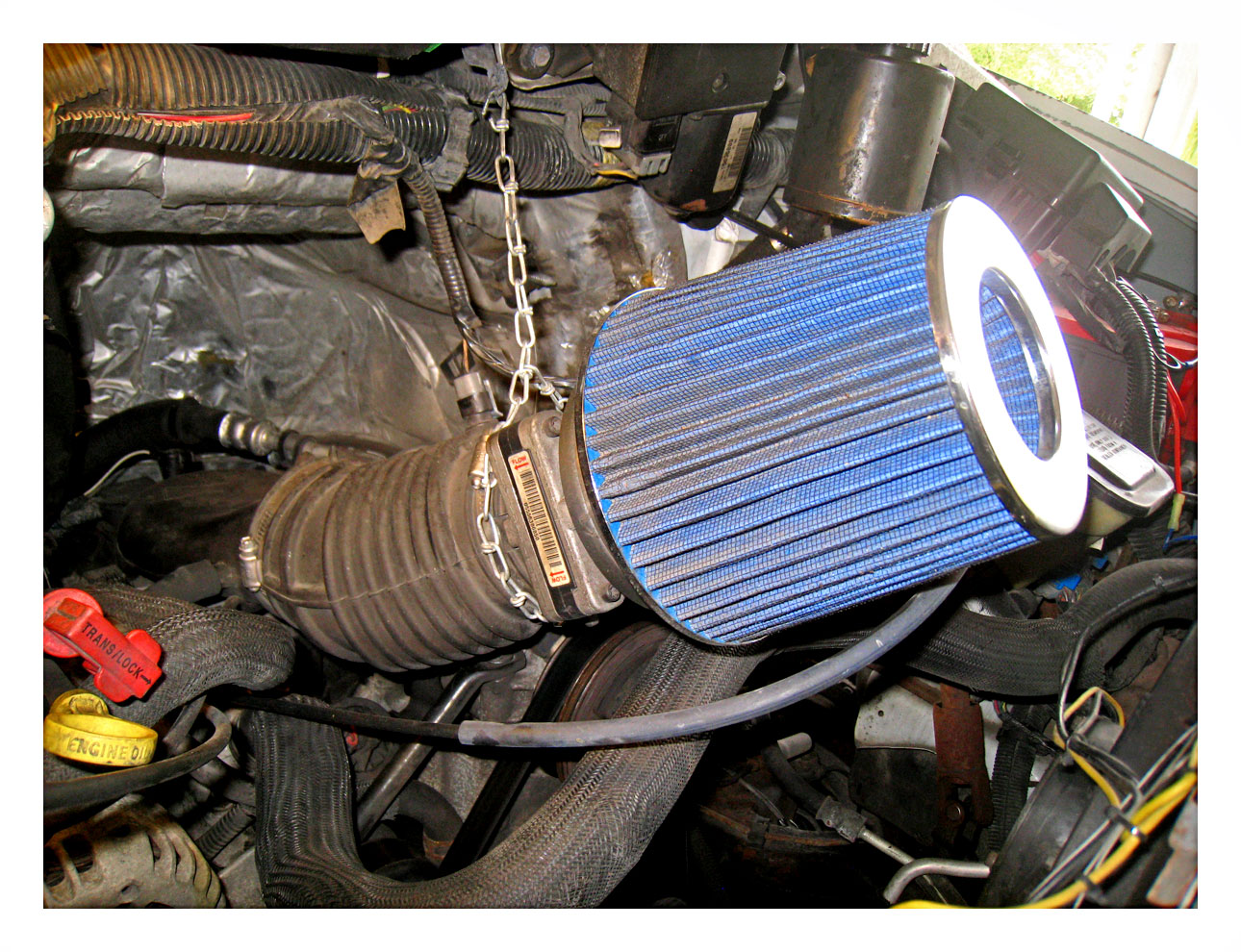 Cold Air intake.