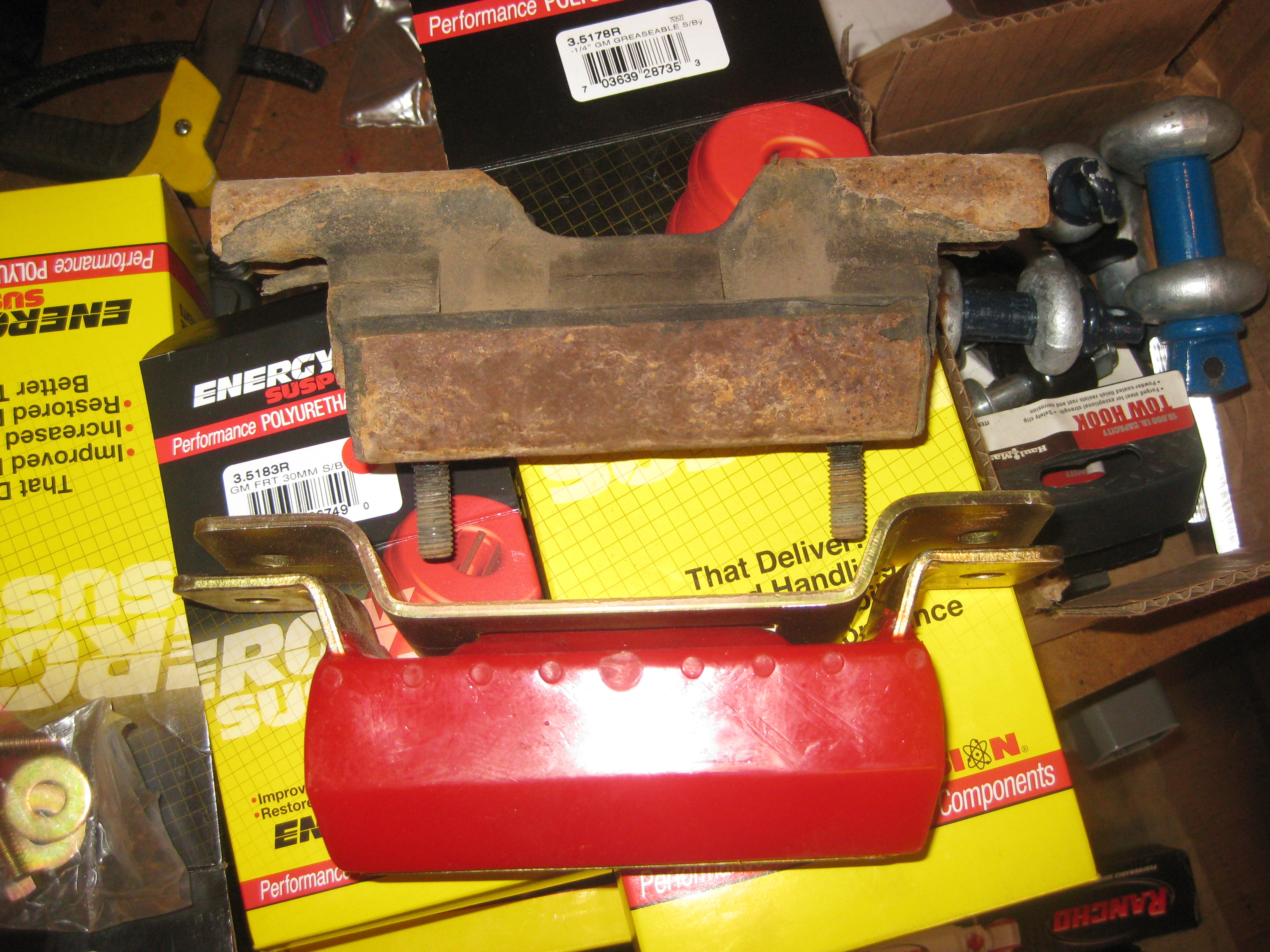 2000 safari polyurethane bushing...
