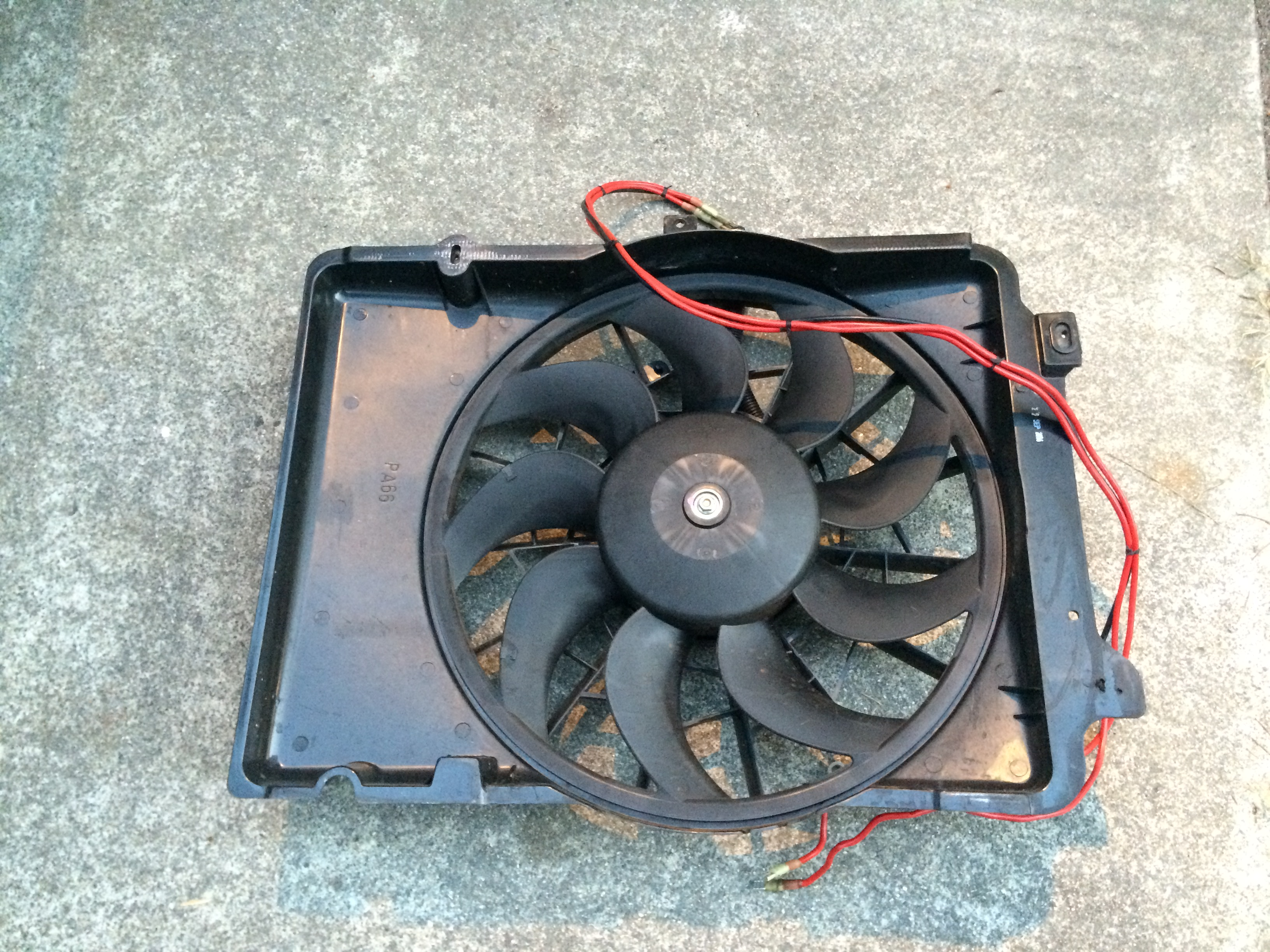 Electric fan went bad in less th...
