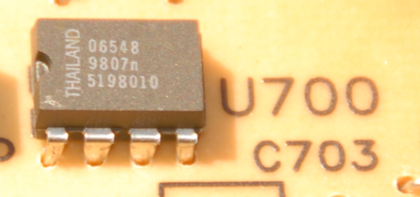 Odometer eeprom identification
