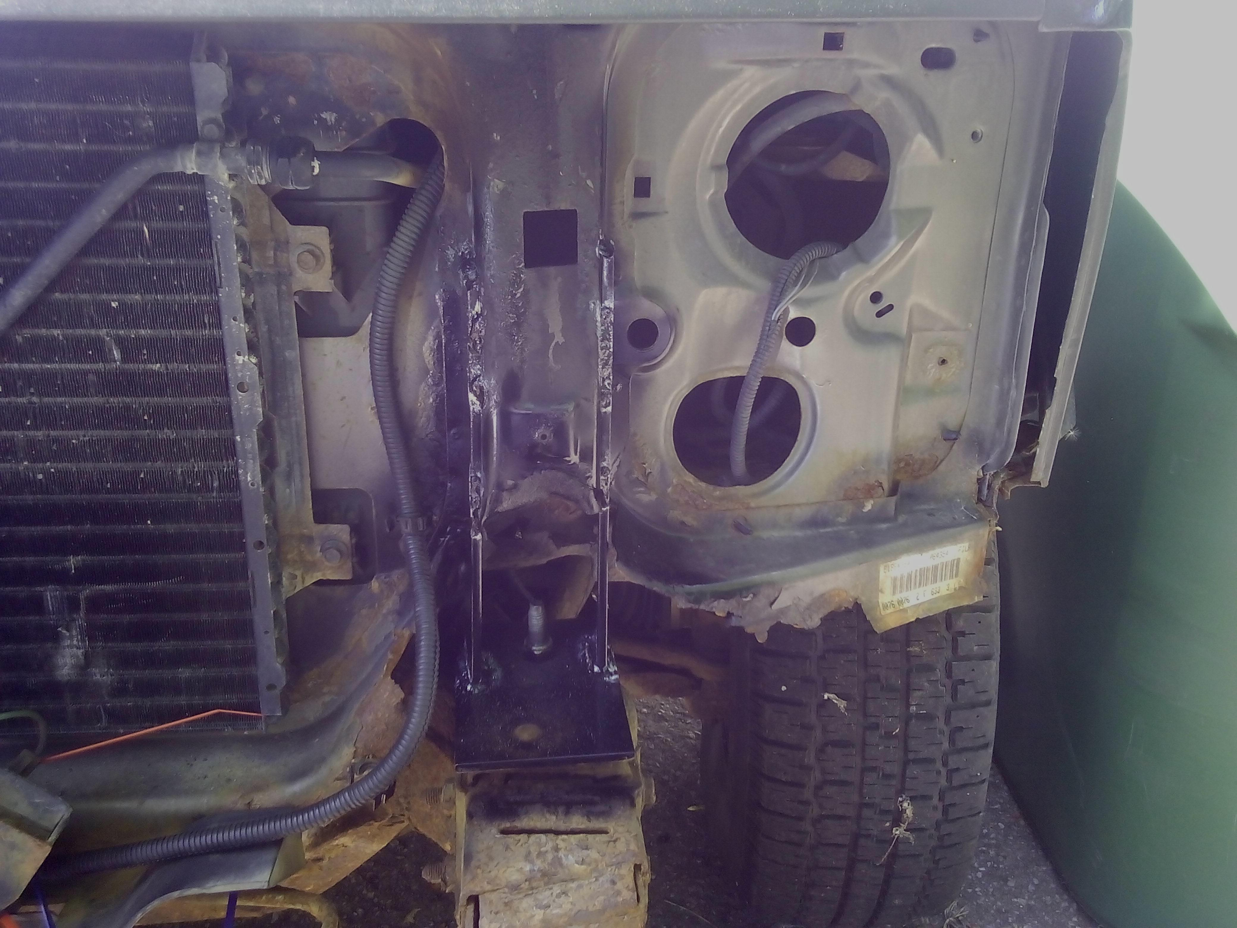 FRONT END BODY RUST