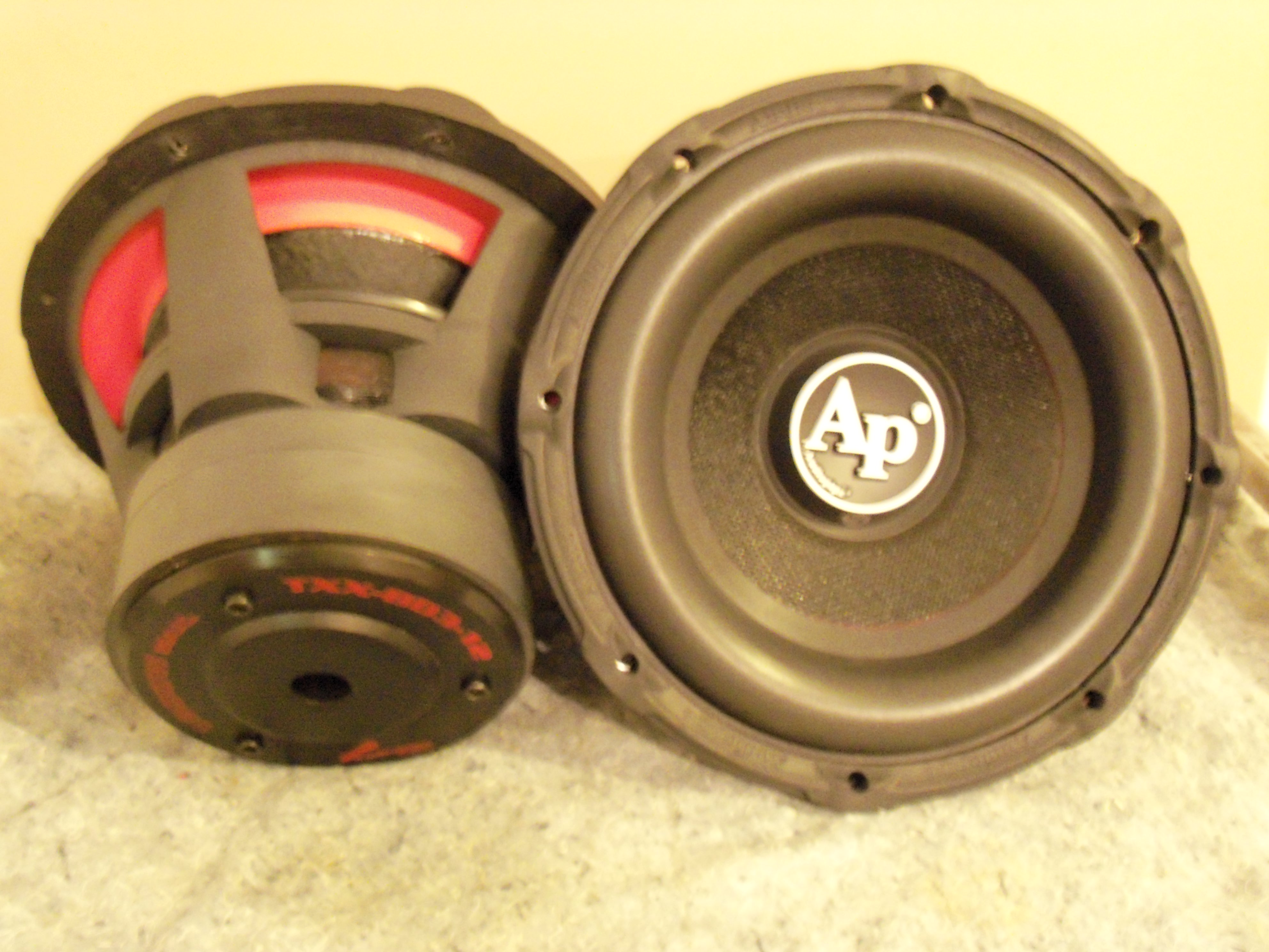 "AudioPipe 12"" BD3s, anyone ..."