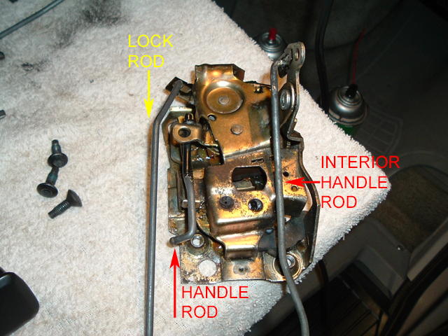 1984 Pass Dr Latch & Rods Install