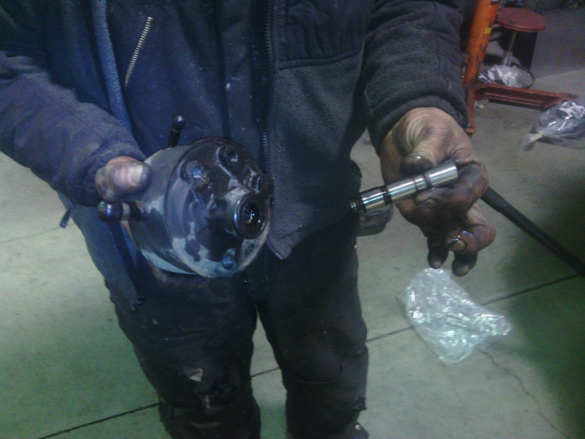 astro van power steering pump