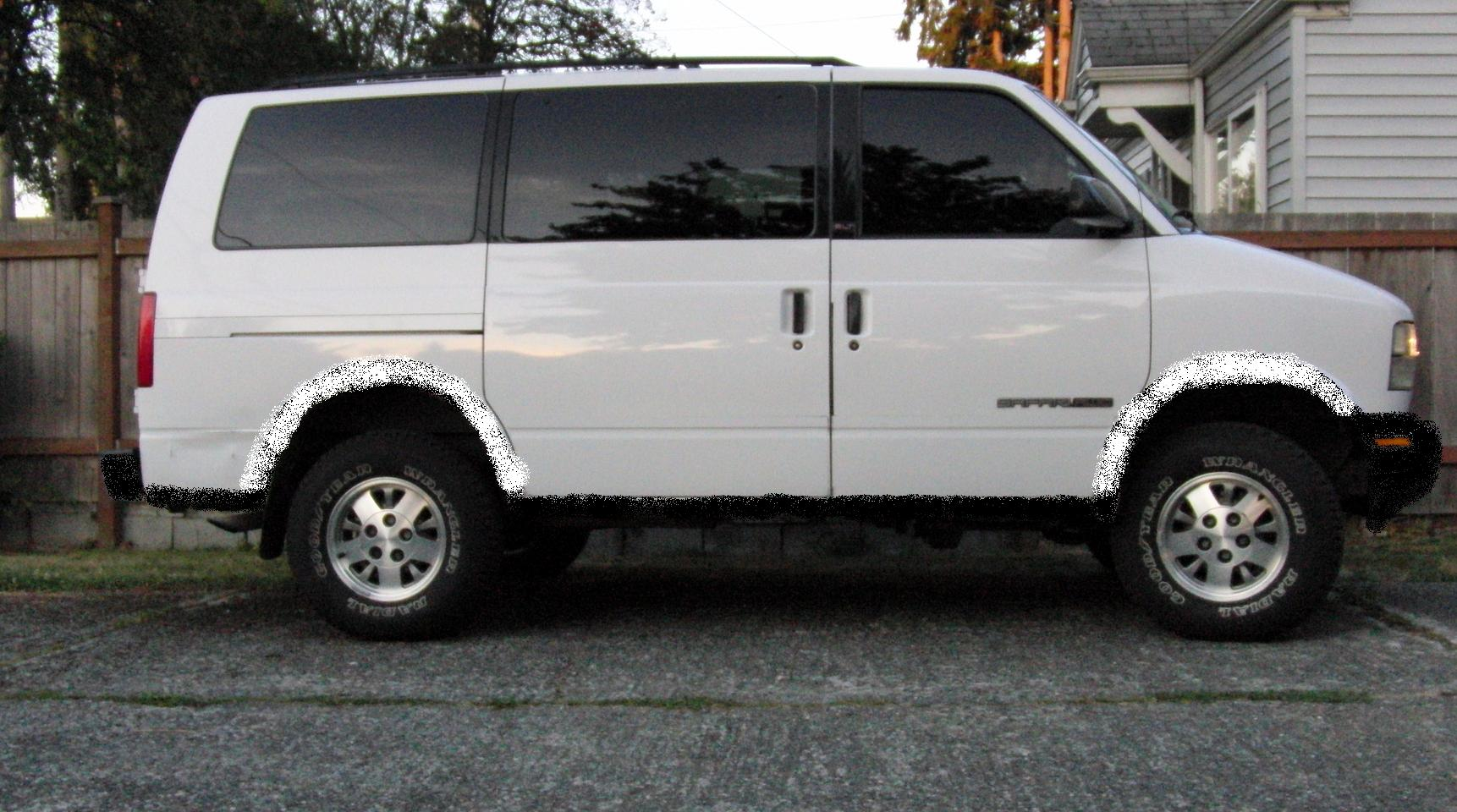 First Savana van