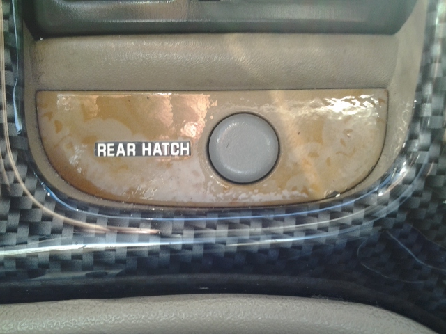 Hatch release switch
