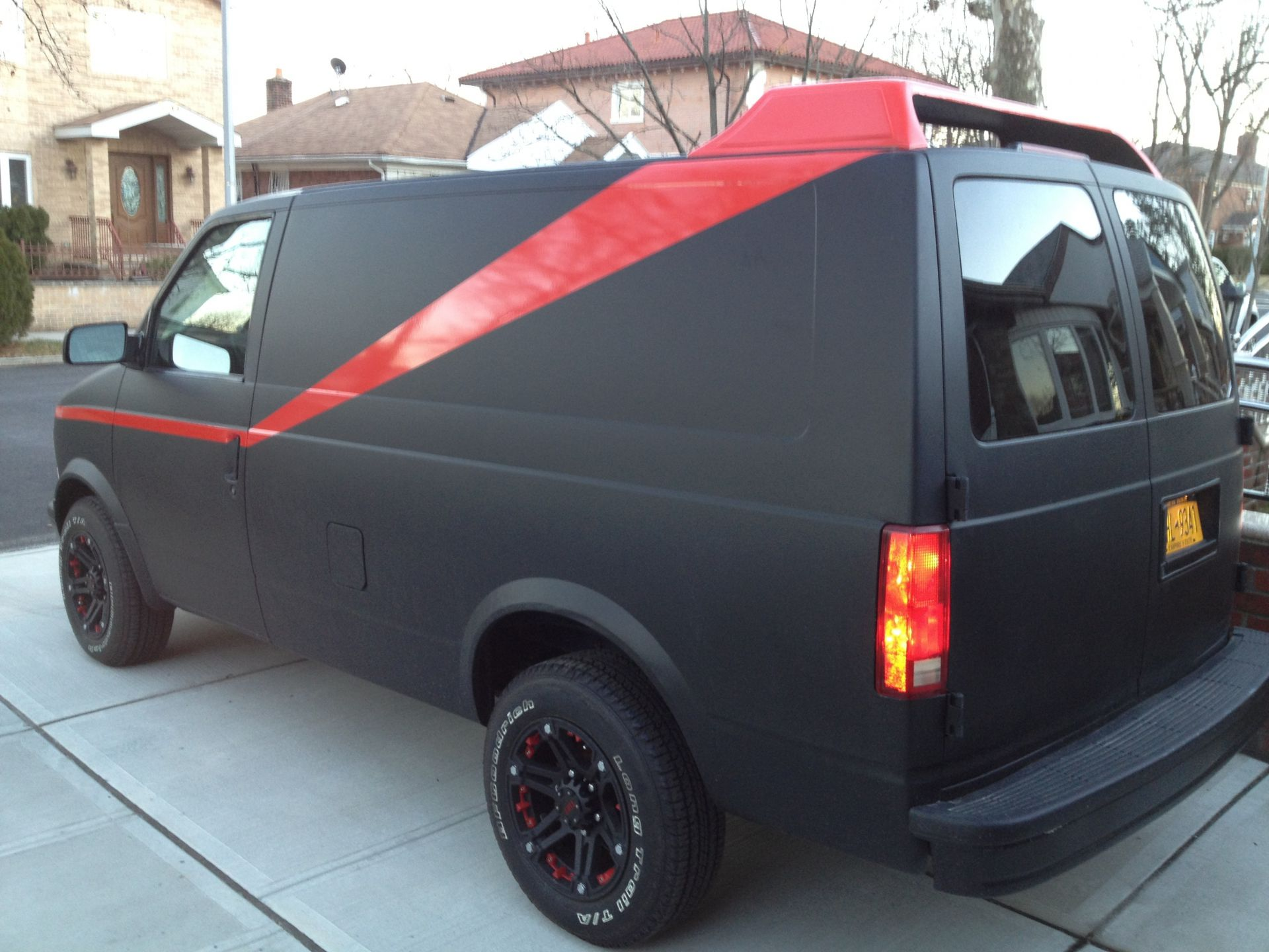 Phase 2: My version of the A-team van